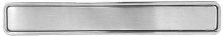 Xinnix XA-H180.NS ingewerkte handgreep - Nikkel mat