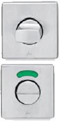 Xinnix XA-IT002.WC vrij/bezet garnituur - RVS mat